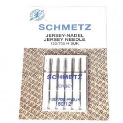Aiguilles Jersey Schmetz n° 80