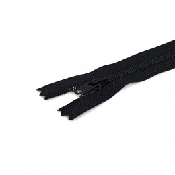 Tirette / Zip non séparable visible noir