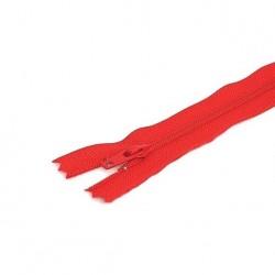 Tirette / Zip non séparable visible rouge