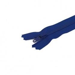 Tirette / Zip non séparable visible bleu foncé