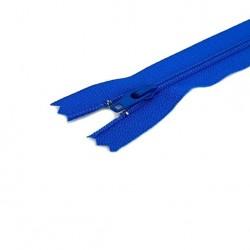 Tirette / Zip non séparable visible bleu