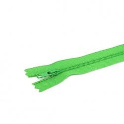 Tirette / Zip non séparable visible vert
