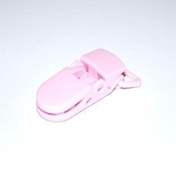 Pince pour attache tétine rose clair