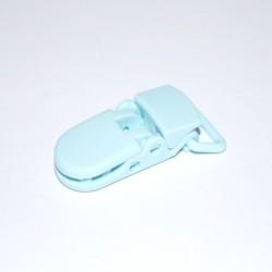 Pince pour attache tétine bleu clair