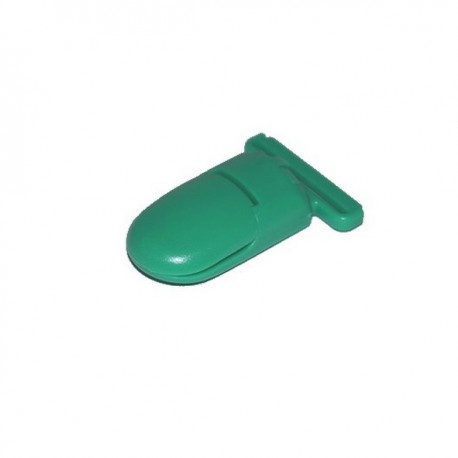 Pince pour attache tétine vert
