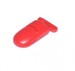 Pince pour attache tétine rouge