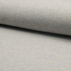 Jersey uni gris cîné clair