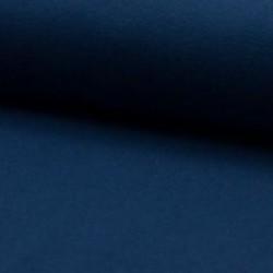 Bord côtes fines mailles Bleu Indigo