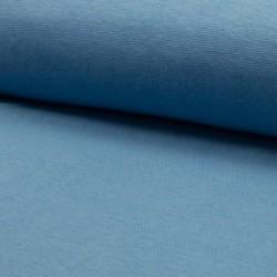 Bord côtes fines mailles Bleu Dusty