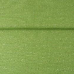 Bord Côtes Lurex Argent Vert